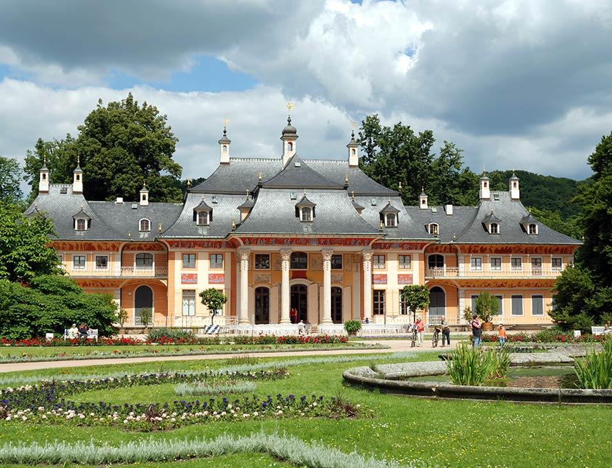 Schloss Pillnitz in Dresden - Ehrwürdiger Zeitzeuge für den Dresdner Barock