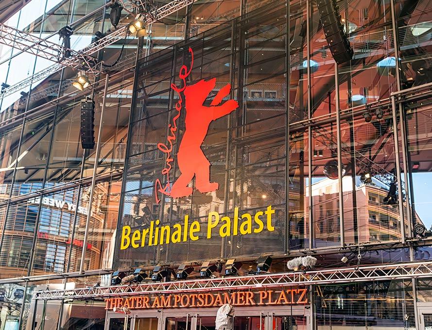 Transfer to the Berlinale in Berlin