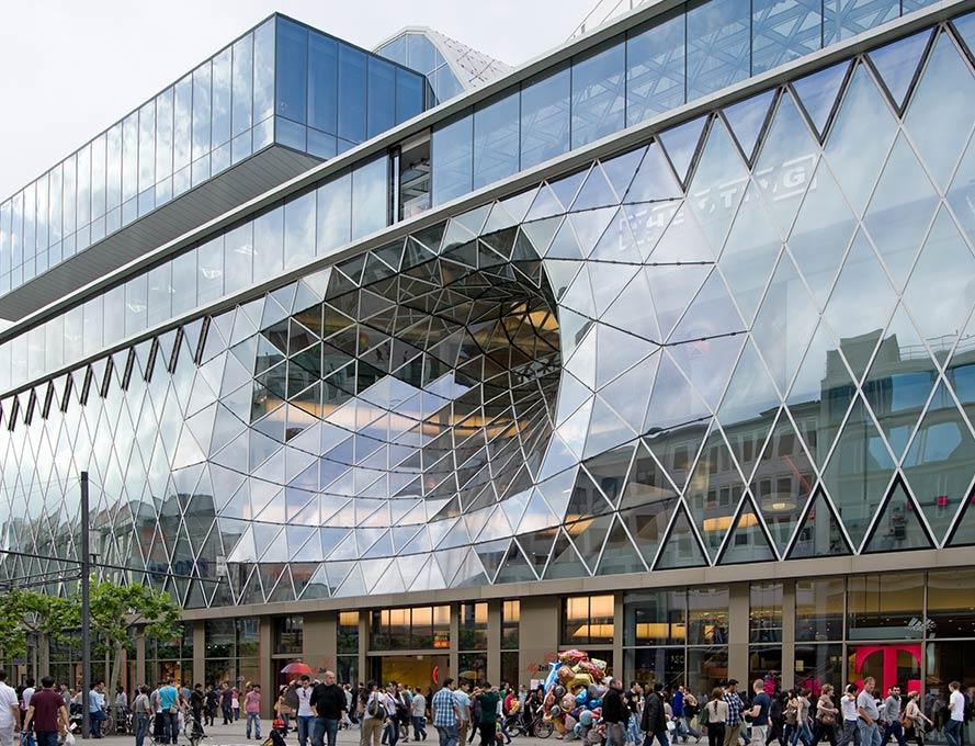 Das Shopping Center MyZeil