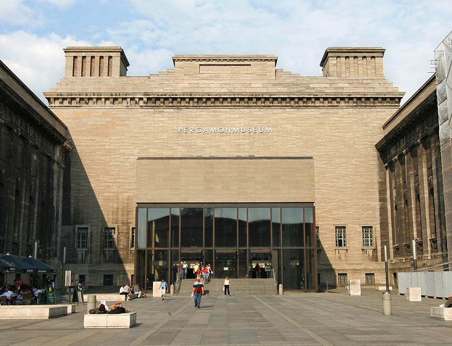 The Pergamon Museum in Berlin - arrive in style with a chauffeur