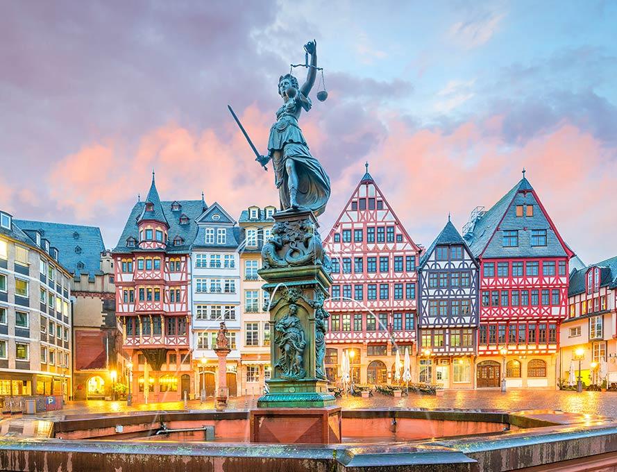 Der Römerberg in Frankfurt – Historischer Marktplatz mit viel Charme