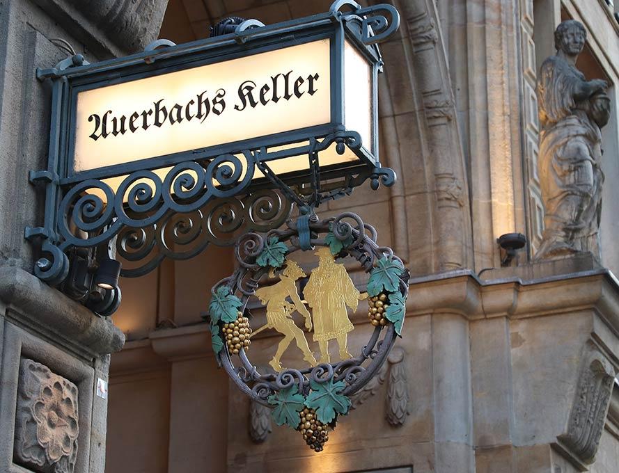 Der Auerbachs Keller in Leipzig
