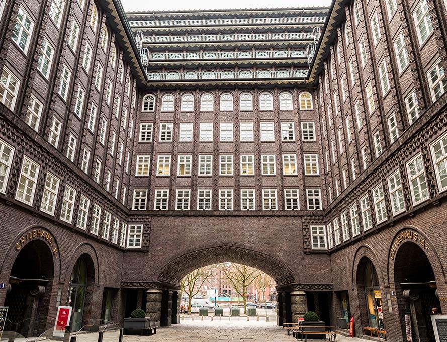 Le Kontorhausviertel - une architecture historique et impressionnante à Hambourg
